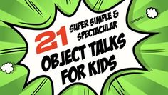 21 Super Simple & Spectacular Object Talks for Kids – KidzMatter Object Lessons, Super Simple, Small Groups, 21st, Objects, Teaching, Ministry, Bridge, Kids