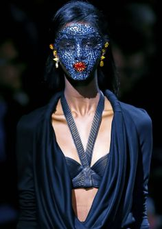 Givenchy ss 2014 makeup by Pat McGrath