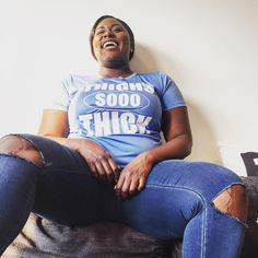 "I adore Danielle Brooks ""THIGHS SO THICK and HAPPY BOUT IT!"""