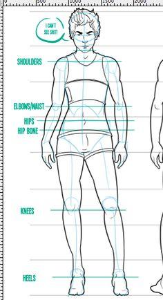 Anatomically Correct Drawing Tutorials