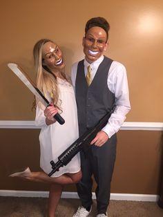 The Purge couple costume #thepurge #couplecostume @ryliston @cuhlorz
