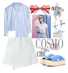 """""""FSJ espadrille sandals for summer vacation"""" by fsjamazon ❤ liked on Polyvore featuring Vetements, Sandy Liang and INZI"""