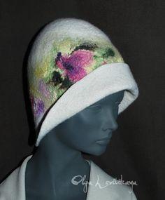 Nuno Felted Hat Gallery.ru / Фото #4 - SAUNA CAPS - renew