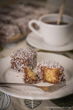 Mézes-kókuszos kocka - a tészta legyen puha Hungarian Recipes, Hungarian Food, Sugar And Spice, French Toast, Cereal, Bakery, Spices, Pudding, Sweets