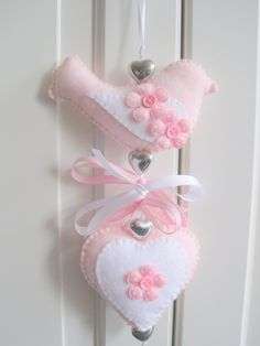 deurhanger voor aan een deur of knop van de kast #kinderkamer #meisjeskamer www.kids-ware.nl