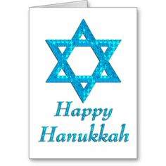 Happy Hanukkah Star of David Greeting Card 15