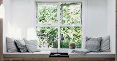 Roman Shades, Windows, Curtains, Home Decor, Blinds, Decoration Home, Room Decor, Draping, Home Interior Design