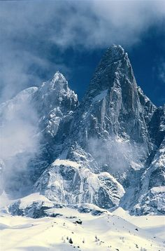 Mont Blanc, Charmonix, France