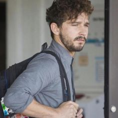 Shia Lebeouf- This is how Shia's hair is naturally, very curly. In his movies it's combed back, but you can see the waves. When he was a kid on the Disney channel, he let his hair go like this. He's part Ashkenazi, which is the most common race of Jewish people, so that's definitely where he gets his hair! So cute!
