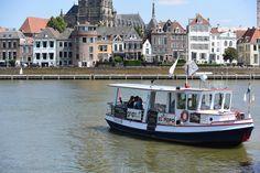 Deventer, het pontje op de IJssel