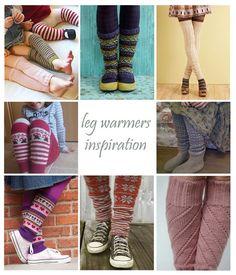 get lucky: pysselstafett/craft relay: leg warmers