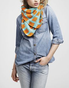 Check Mate Scarf by Wool and the Gang #blackfridaygang