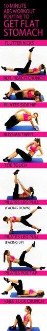 Get Flat Stomach