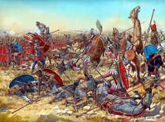 La Batalla de Nisibis se libró en el verano de 217 entre los ejércitos del Imperio Romano bajo el emperador recién ascendido Macrino y el Parto ejército parto del rey Artabano IV . Duró tres días, y resultó un sangriento empate. Como resultado de la batalla, Macrino se vio obligado a buscar la paz, pagando a los partos una suma enorme y el abandono de la invasión de Mesopotamia que Caracalla había comenzado un año antes.