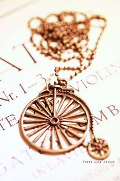 Old Bike Necklace