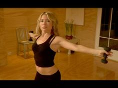 Tracy Anderson Mat arms with weights - YouTube