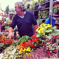 Columbia Road Flower Market in London, Greater London