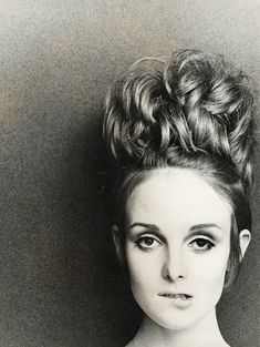 Grace Coddington photographed by Peter Akehurst, 1961.