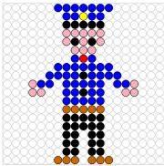 Deze kralenplank en vele andere in het thema politie kun je vinden op de website van Juf Milou. Shapes Worksheets, Diy Perler Beads, Cross Stitch For Kids, Teaching Aids, Community Helpers, Plastic Canvas Patterns, Cross Stitch Designs, Lego, Beading Patterns