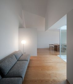 *minimal interiors, design, living rooms*- This fascinating looking residence was designed by architects Manuel Aires Mateus and is located in Portugal, in a high point, overlooking the city of Leiria.  Photo credits: Fernando and Sergio guerra