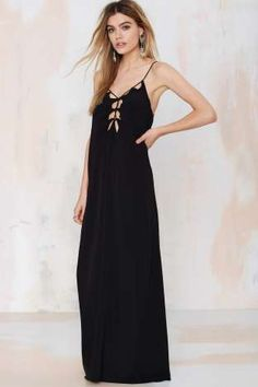 All Tied Down Maxi Dress | Shop Clothes at Nasty Gal!