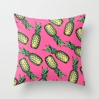Pattern Throw Pillows | Society6
