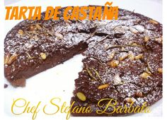 http://www.chefstefanobarbato.com/es/tarta-de-castañas-receta-original-italiana-castagnaccio/ #tartadecastaña  #torta de #castaña #harinadecastaña #dulce #recetaoriginal #domingo