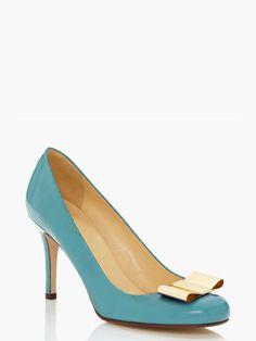 Love the Kate Spade Karolina bow heel on Wantering.