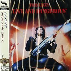 Thin Lizzy - Live And Dangerous - Japan Jewel Case SHM - UICY-25099 - CD