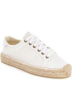 Soludos Espadrille Platform Sneaker (Women) available at #Nordstrom