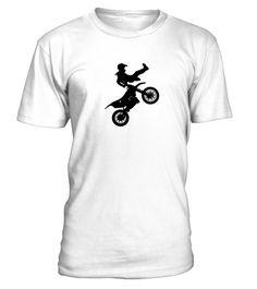 Kids BOYS Personalised Motocross Bike MX Stunt T shirt Great Gift Idea!