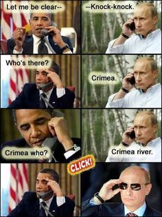 Putin confronts Obama on the Ukraine issue
