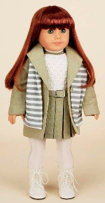 picture day outfit for american girl doll