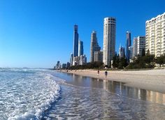 Surfers Paradise, Gold Coast, Australia - road trip tips from Sydney to Brisbane on our blog: http://www.ytravelblog.com/sydney-to-brisbane-road-trip/