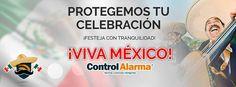 #Somos Tu #Mejor Opción en #Seguridad  www.controlalarma.com Control, Important Dates, Security Systems, Celebrations