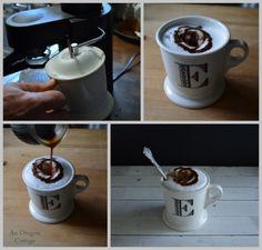 Making a Macchiato-style Cappuccino - An Oregon Cottage