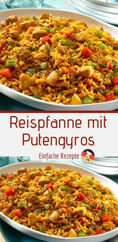 Rice pan with turkey gyros food ideen ideas food food food Quick Vegetarian Meals, Healthy Chicken Recipes, Crockpot Recipes, Soup Recipes, Easy Chicken Rice Casserole, Casserole Recipes, Vegetable Soup Healthy, Healthy Vegetables, Ground Beef Recipes
