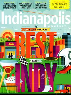 Indianapolis Monthly Cover for 12/1/2012