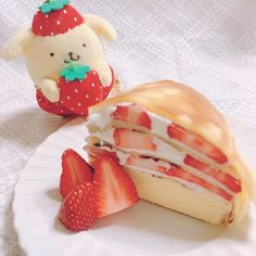 Yummy Snacks, Delicious Desserts, Yummy Food, Tasty, Lucky Peach, Kawaii Dessert, Cafe Food, Cute Cakes, Aesthetic Food