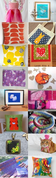 A Splash of Colour by Frances Bell on Etsy--Pinned+with+TreasuryPin.com