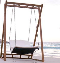 Attraktiv Gartenschaukel MBM «Heaven Swing» Doppelschaukel Inkl. Gestell |  Loungemöbel Rattan Shop | Rottau | Pinterest