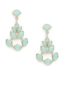 Kendra Scott Jewelry Stone Chandelier Earrings in Chalcedony