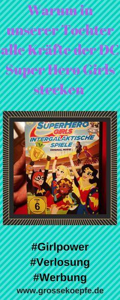 Super Girls, #Girlpower, #Mädchen, Kinder, #Batgirl, #DCSuperherogirls, #Medienerziehung,#Feminism