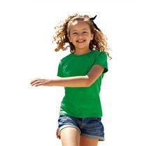 Girls valueweight t-shirt / meisjesshirt 165 gr/m2