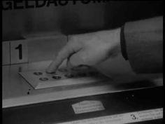 Der Erste Geldautomat 1967