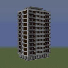 Minecraft City Buildings, Minecraft Architecture, Minecraft Stuff, Minecraft Ideas, Minecraft Designs, Skyscraper, Multi Story Building, Star Wars, Projects