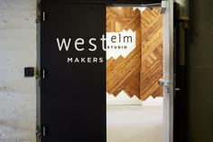 West Elm Opens Makers Studio in Brooklyn - Design Milk Maker Studios, Shop Around, Beautiful Interiors, West Elm, Home Furnishings, Tall Cabinet Storage, Interior Design, Milling, Daily Inspiration