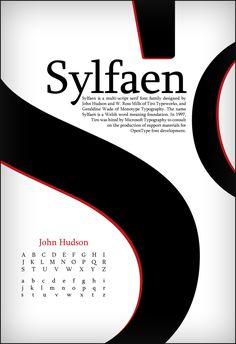 Sylfaen Type Poster by Toothpick-Guy.deviantart.com on @deviantART