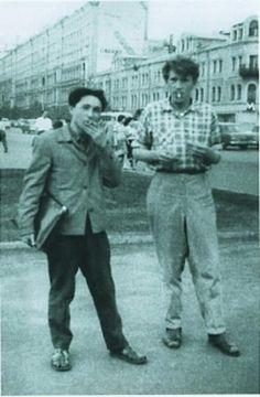 1961 Игорь Вулох и Геннадий Айги