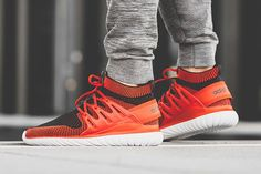 "adidas' Tubular Nova Primeknit Gets a Hot New ""Chili"" Makeover"